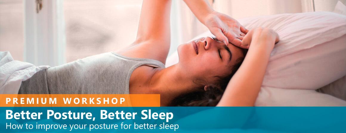 Bättre hållning Bättre sömn