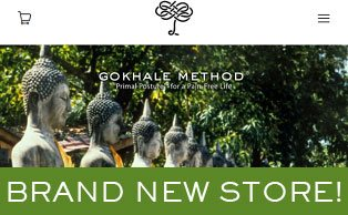 New Gokhale Method Shop