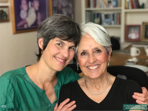 Journey With Joan Baez Gokhale Method Institute