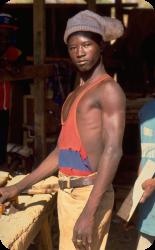 ゴーカレー法 - アフリカ - 大工スタンディング·肩·骨盤·筋肉